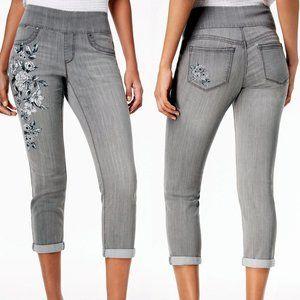 Style & Co Petite Boyfriend Ankle Jeans Size PL